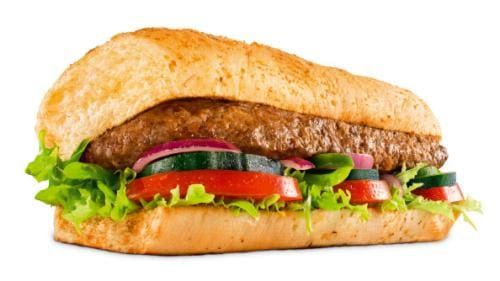Sanduíche steak churrasco -  15cm