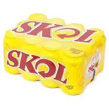 Skol 350ml (caixa com 12 unidades)