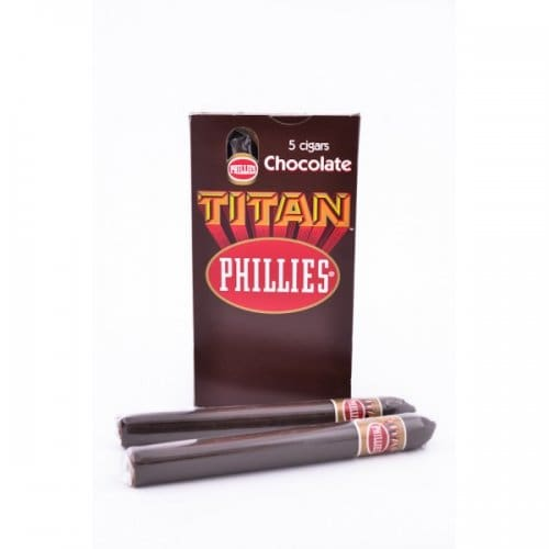 Charuto Titan Phillies Chocolate (unidade)