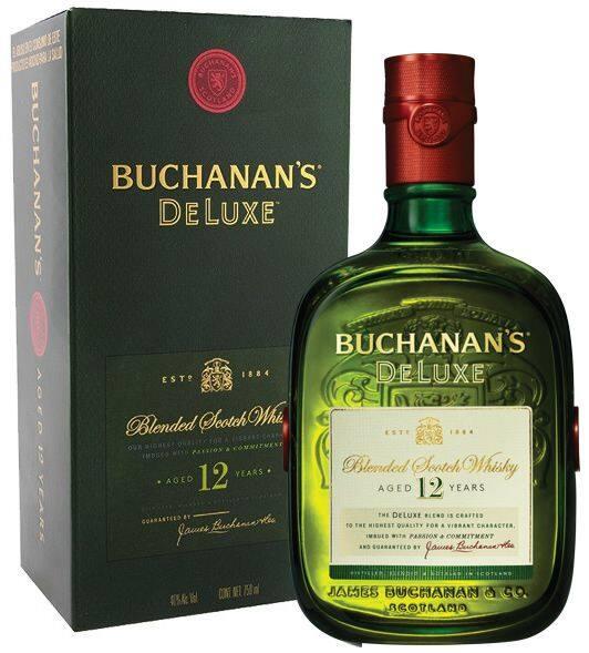 Whisky buchanan´s de luxe 12 anos 1l
