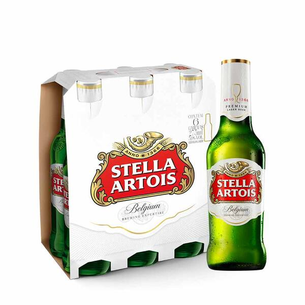 Stella Artois LN 275ml (pack com 6)