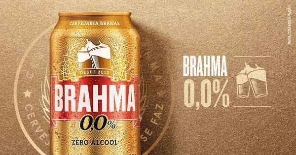 Brahma Chopp 0% Álcool