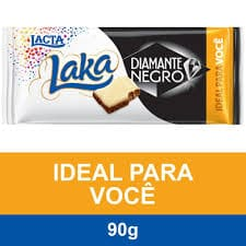 Chocolate diamante negro/laka 90g