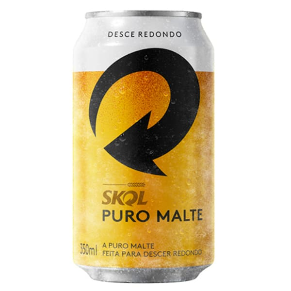 Skol puro malte 350ml (pack com 12)
