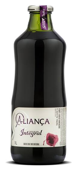 Suco de uva integral tinto aliança 1l