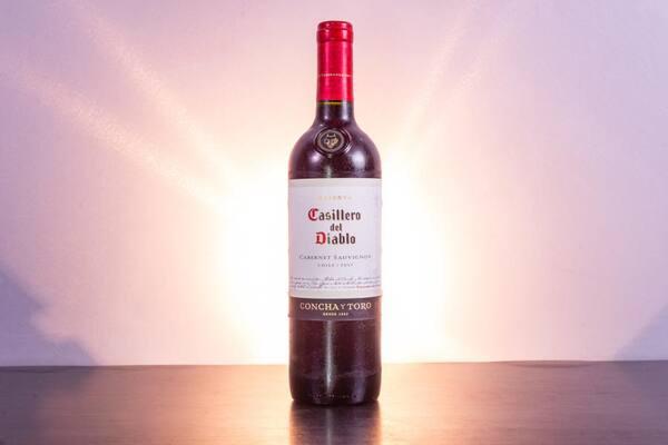 Vinho casillero del diablo carmenére