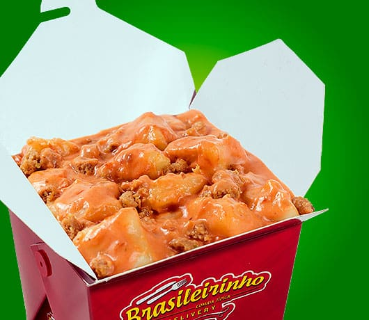 Box nhoque vegano de batata doce
