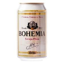 Cerveja lata bohemia