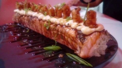 Manta show de camarão empanado