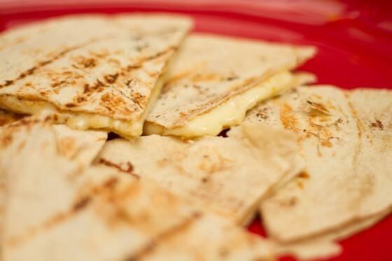 Quesadillas de queijo