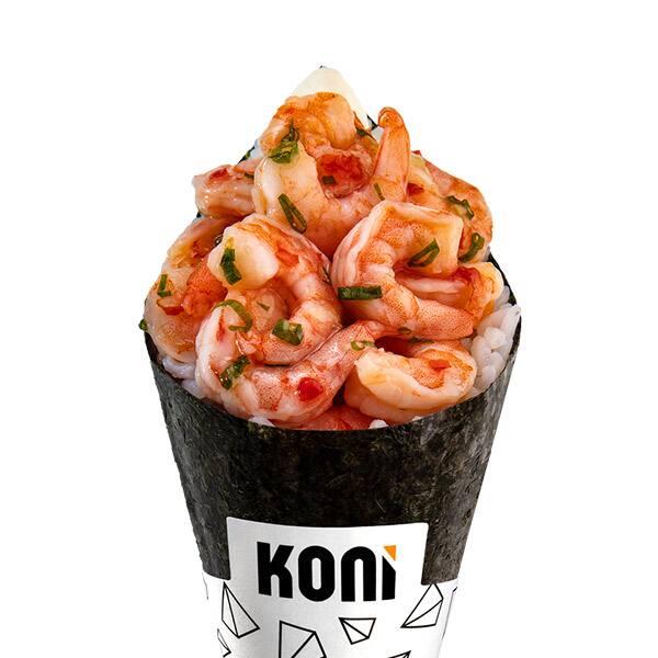 Koni camarão sweet chilli
