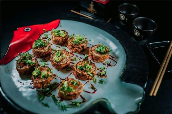 Porção hot camarão especial - 8 peças
