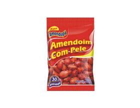 Amendoin frito com pele 30g
