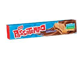 Passatempo recheado chocolate 130g