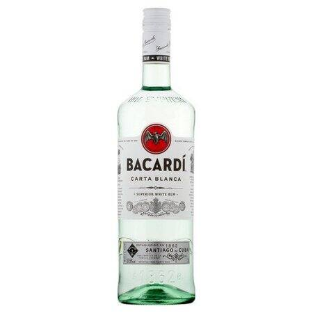 BACARDI CARTA BLANCA 980 ML