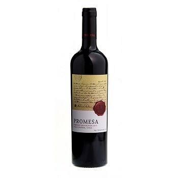 Vinho tinto de mesa seco promesa carbenet sauvignon 375 ml