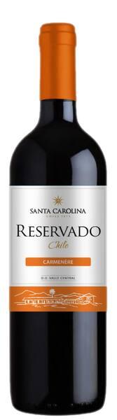 Vinho santa carolina carmenère