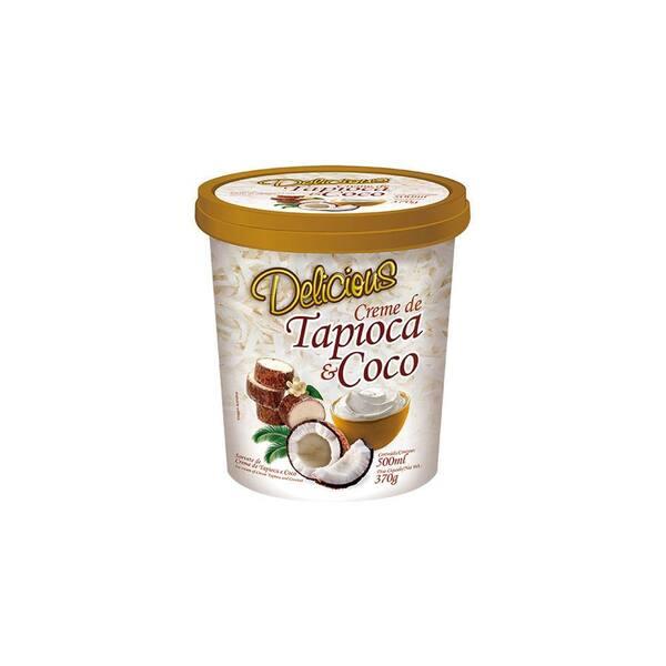 Creme de tapioca com coco - 500g