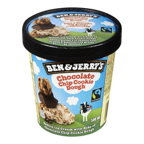 Ben & jerry´s chocolate chip cookie dough