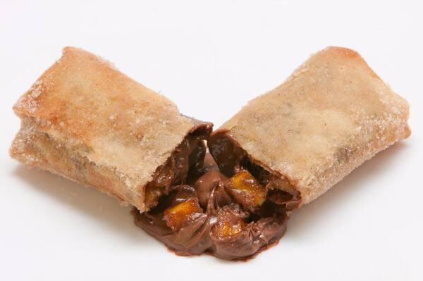 Rolinho de Chocolate com Banana - 1 Unidade