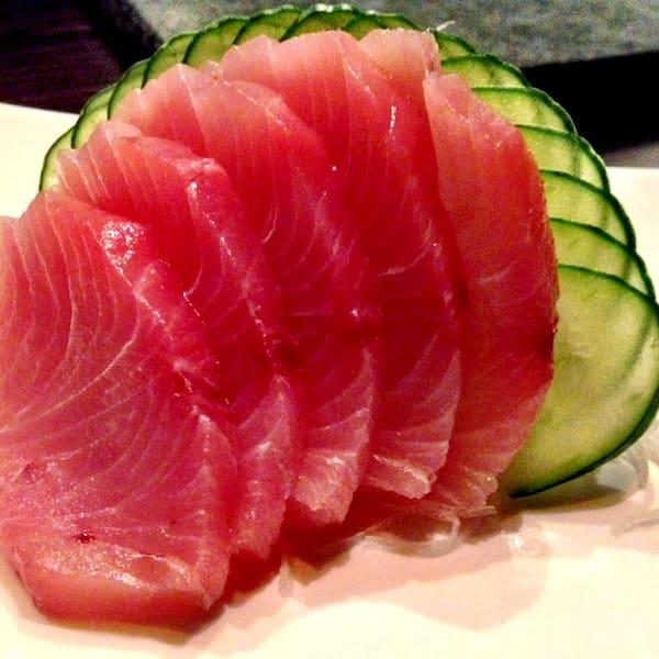 Sashimi de atum - 10 fatias