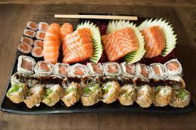 Combinado de salmão (54 peças)