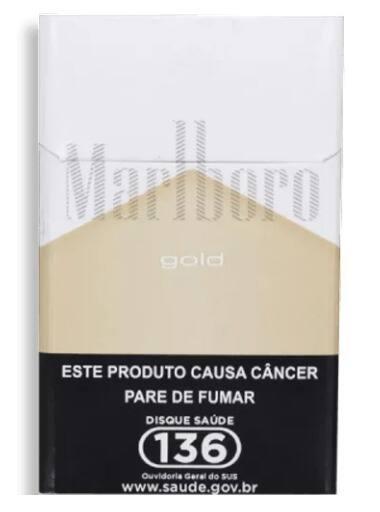 Cigarro malboro gold