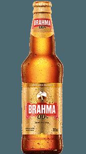 Cerveja Brahma zero 355ml