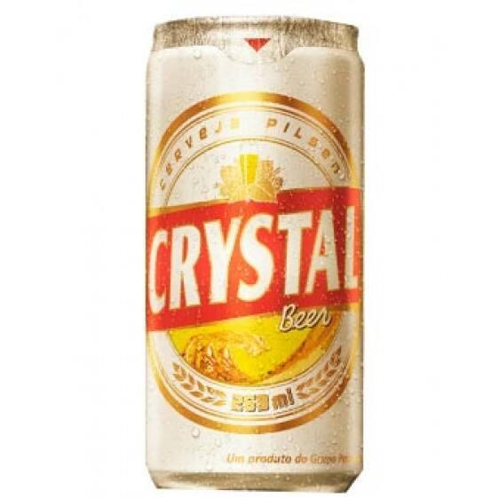 Cerveja crystal 269ml