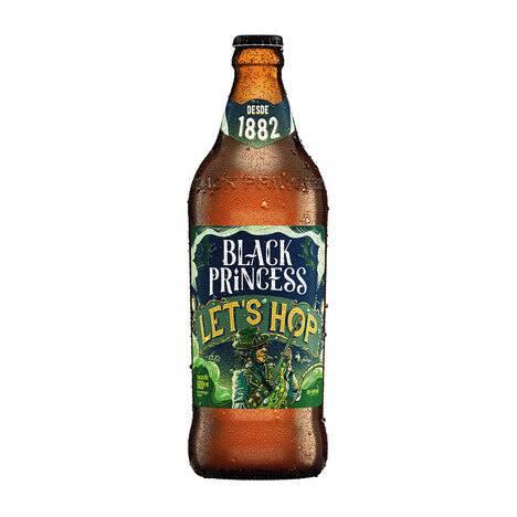 Cerveja black princess let's hope