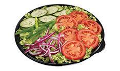 Prato salada - vegetariano