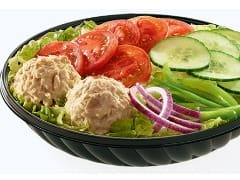 Prato salada - atum