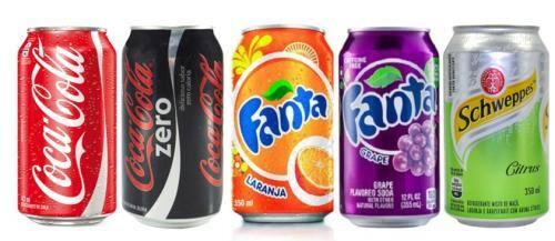 Refrigerantes lata (350 ml)