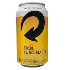 Cervejas Skol puromalte lata 350ml