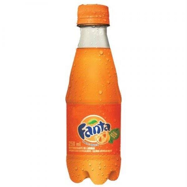 Refrigerante Fanta laranja 250ml