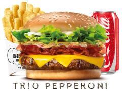 824 - trio bispo's pepperoni