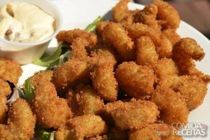 Iscas de saint peter com batata