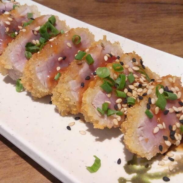 Sashimi crocante (5 unidades)