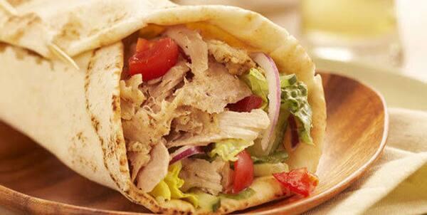 Promoção delicioso shawarma de frango!