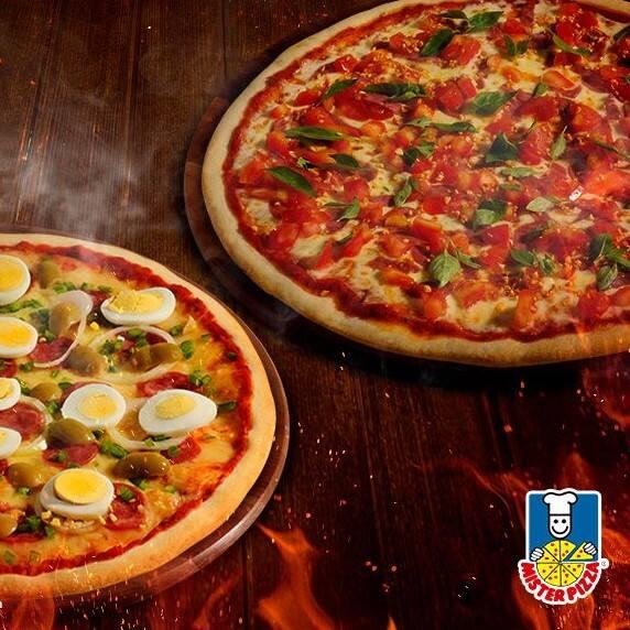 2 pizzas grandes (35cm cada)
