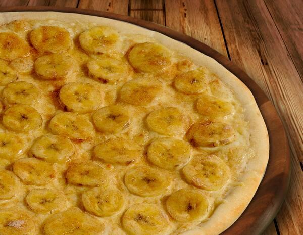 Pizza Brotinho Banana com Canela