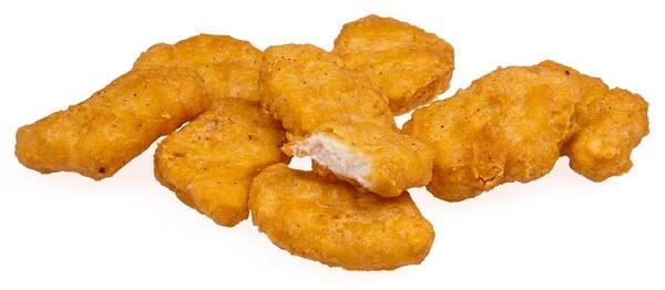 Porção de nuggets - 20 unidades + 70ml de molho