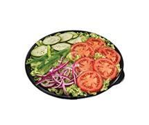 Salada - frango empanado