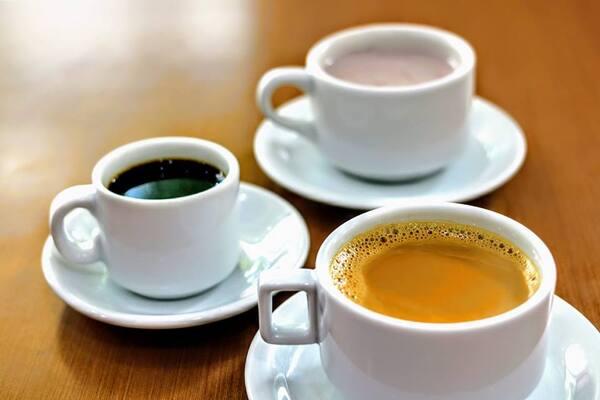 Cafés e chas