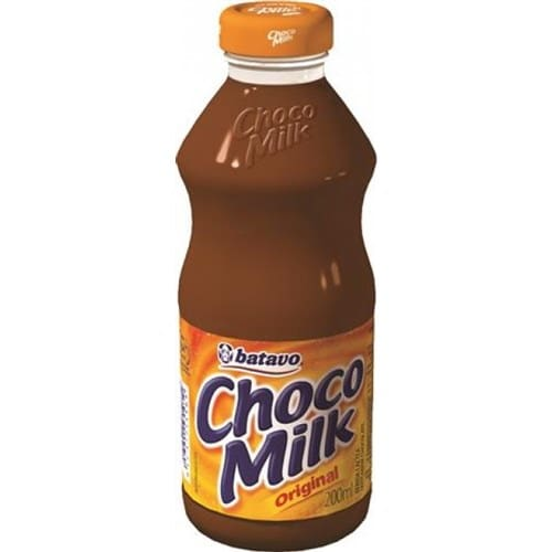 Choco milk vidro
