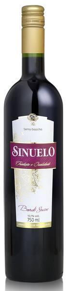 Vinho sinuelo tinto suave 750ml