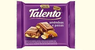 Barras chocolate talento 90g