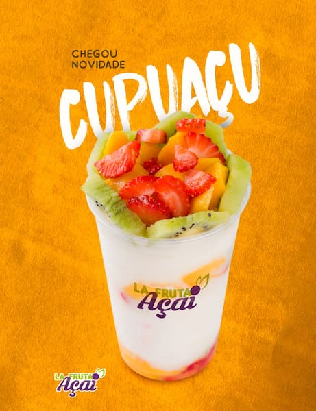 Cupuaçu na tigela 480ml