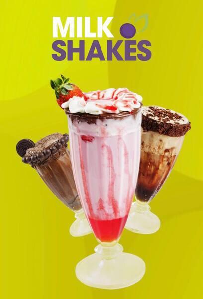 Milk shake morango 400ml