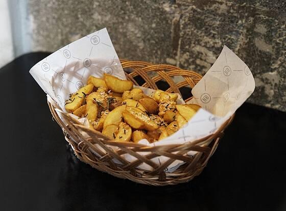 Fritas Rústicas para dividir - Batata